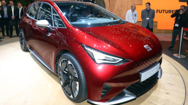 SEAT el-Born concept - Geneva front