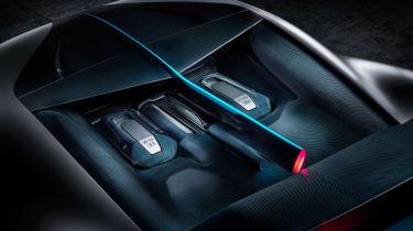 Bugatti Divo - engine