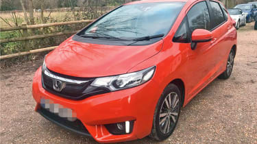 repaired honda jazz