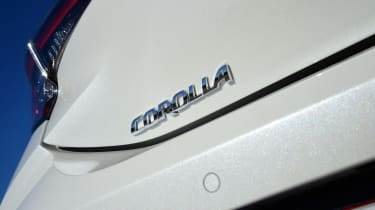 Toyota Corolla - Corolla badge