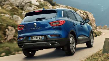 Renault Kadjar facelift - rear