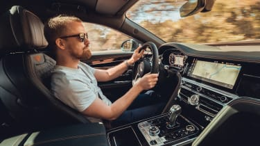 Bentley Flying Spur - Alex driving