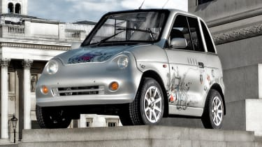 Top 10 worst cars - G-Wiz London front quarter