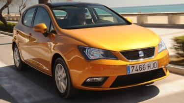 2012 SEAT Ibiza front tracking