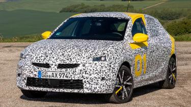 Vauxhall Corsa prototype - front static