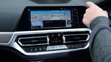 BMW 3 Series long termer - first report touchscreen
