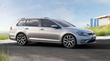 New 2017 Volkswagen Golf Estate - front static