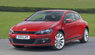 VW Scirocco Bluemotion static