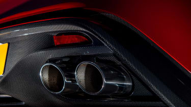 Aston Martin Vanquish Zagato - exhausts