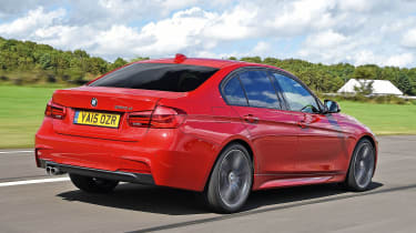 BMW 3 Series - rear tracking