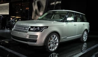 Range Rover 4.4 SDV8 front tracking