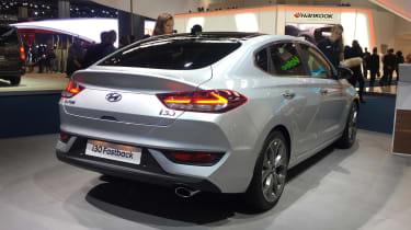Hyundai i30 Fastback - Frankfurt rear