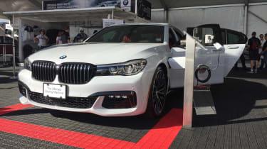 BMW M740e - front