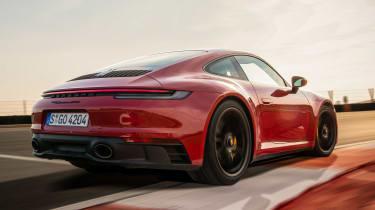 Porsche 911 GTS - rear action