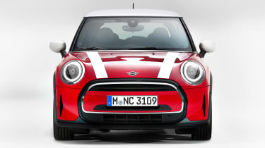 MINI 3-door hatch facelift - full front red