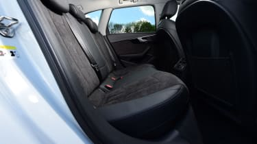 Audi A4 Allroad - rear seats