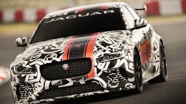 Jaguar XE SV Project8 - front cornering