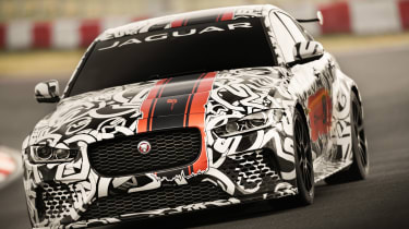 Jaguar XE SV Project8 - front cornering