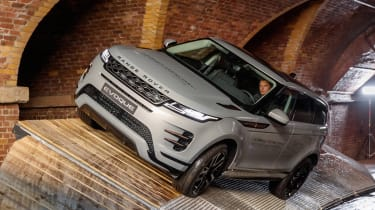 New Range Rover Evoque - front/side