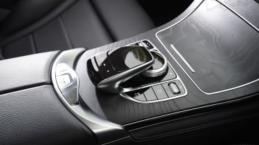 Mercedes GLC - centre console