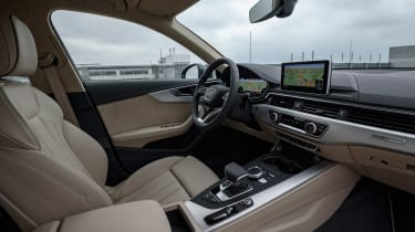 Audi A4 Allroad cabin front