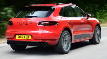 Porsche Macan GTS - rear quarter