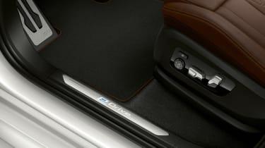 BMW X5 plug-in hybrid - footwell
