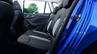 Skoda Kamiq - rear seats
