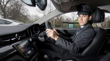 How to be a chauffeur - James Batchelor driving
