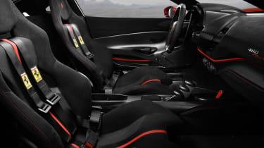 New Ferrari 488 Pista - cabin