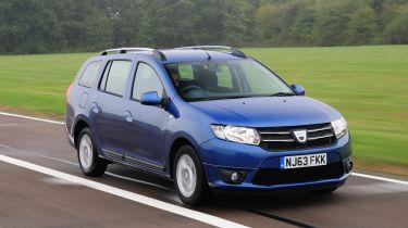 Dacia Logan MCV front action