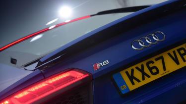 Audi R8 RWS - rear light