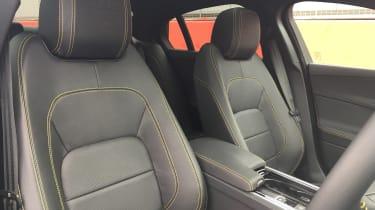 Jaguar XE 300 Sport - front seats