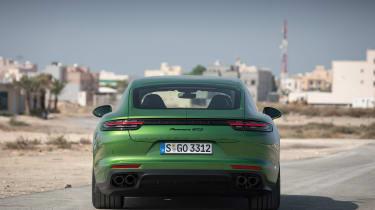 Porsche Panamera GTS - full rear