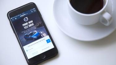 Volvo Amazon Prime app