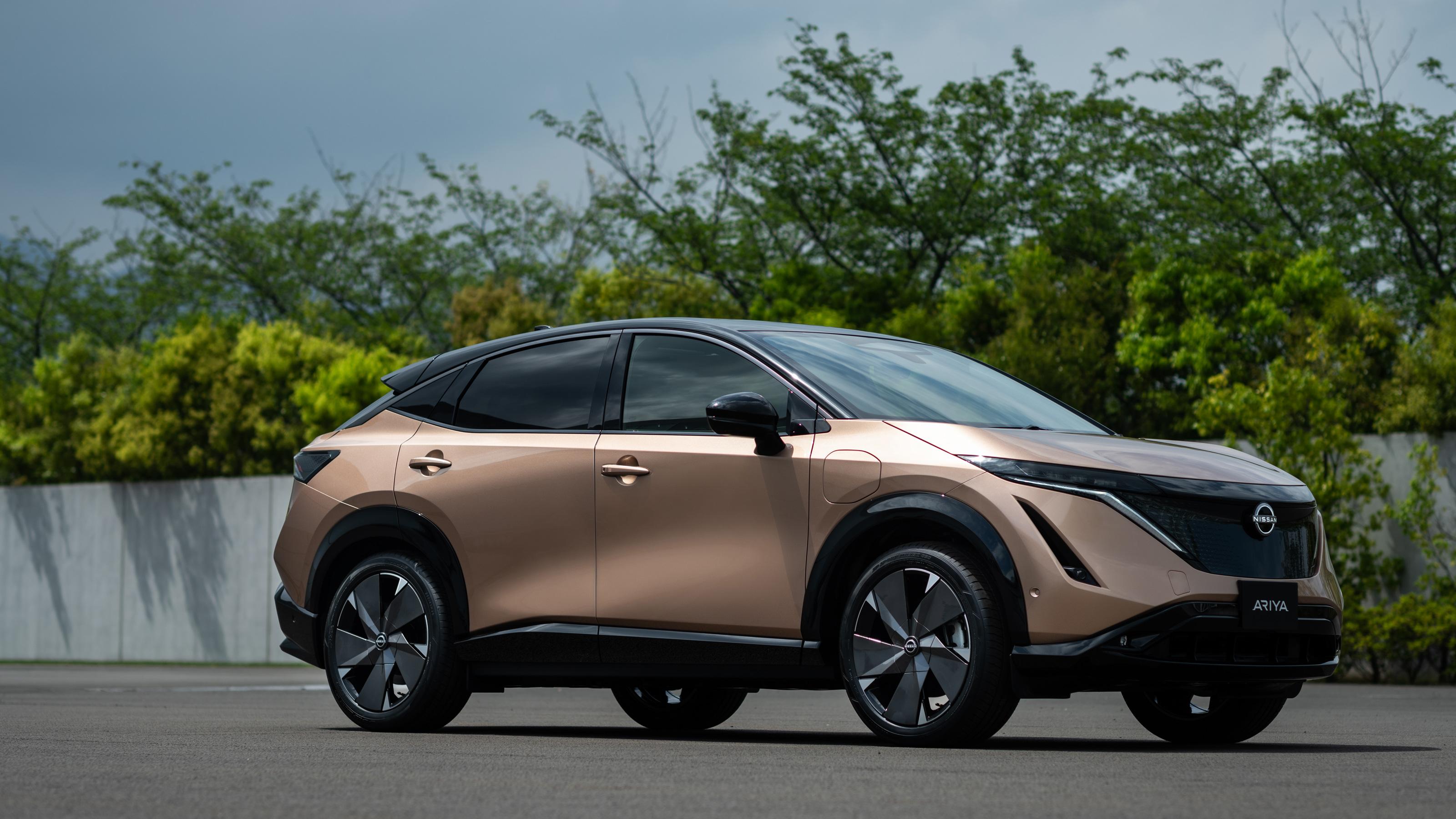 New Nissan Ariya electric SUV unveiled ahead of 2021 ...