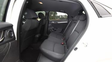 Honda Civic - rear seats