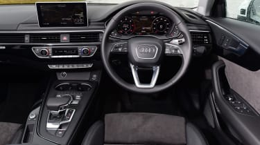 Audi A4 Allroad UK 2016 - interior