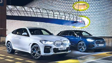 BMW X6 vs Audi Q8 - header