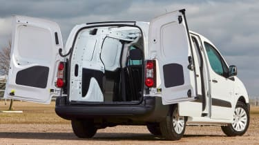 Citroen Berlingo Electric L2  - rear doors open