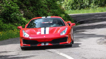 Ferrari 488 Pista - front