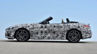 BMW Z4 prototype - roof down