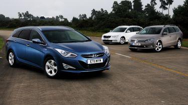 Hyundai i40 vs rivals