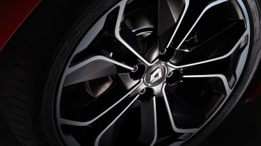 Renault Clio - wheel detail