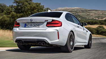 BMW M2 Competition - rear