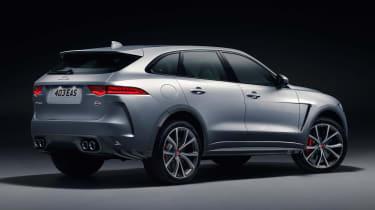 Jaguar F-Pace SVR - rear studio