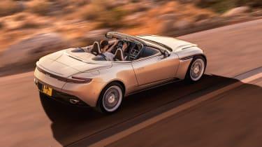 Aston Martin DB11 Volante - rear action