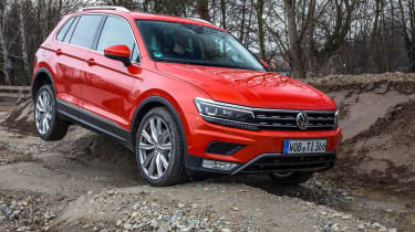 Volkswagen Tiguan 2016 - off-road 2