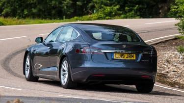 Tesla Model S Long Range - rear cornering