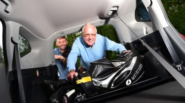 Honda CR-V Hybrid - third report boot